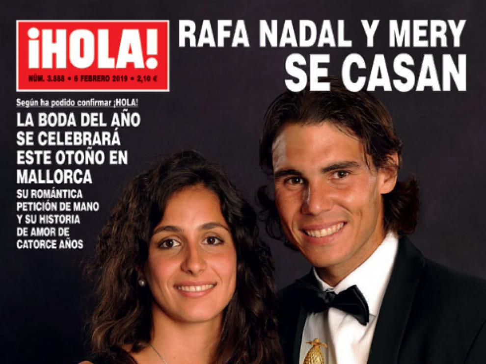 La revista '¡Hola!' publica este miércoles que Rafael Nada y Xisca Perelló celebrarán su enlace este otoño en Mallorca.