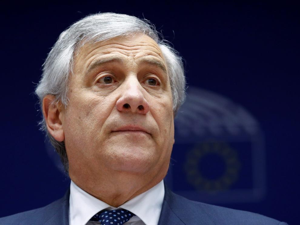 El presidente de la Eurocámara, Antonio Tajani.