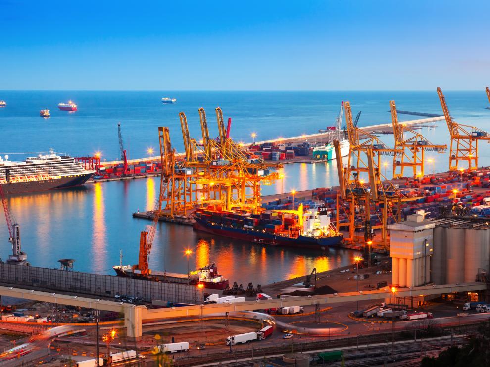 El comercio de mercancías con el exterior es una actividad con un peso notable en la economía aragonesa.