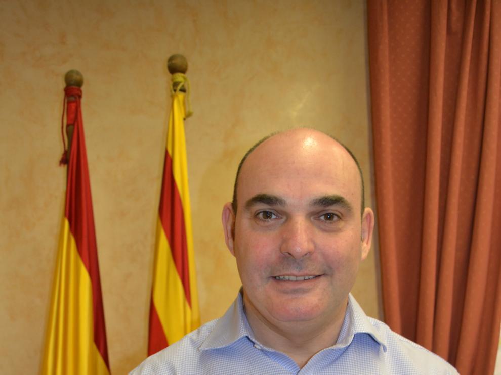 Juan Carlos Gracia, alcalde de Alcañiz.