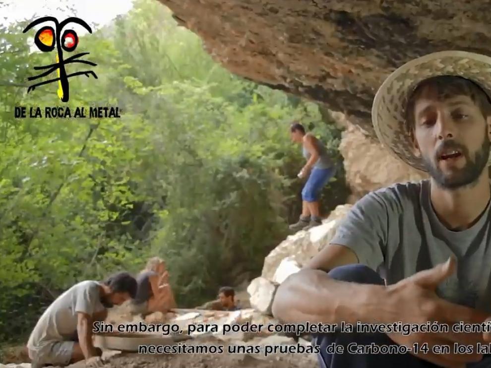 Los arqueólogos explican en un vídeo el objetivo de su proyecto en la Guarguera.