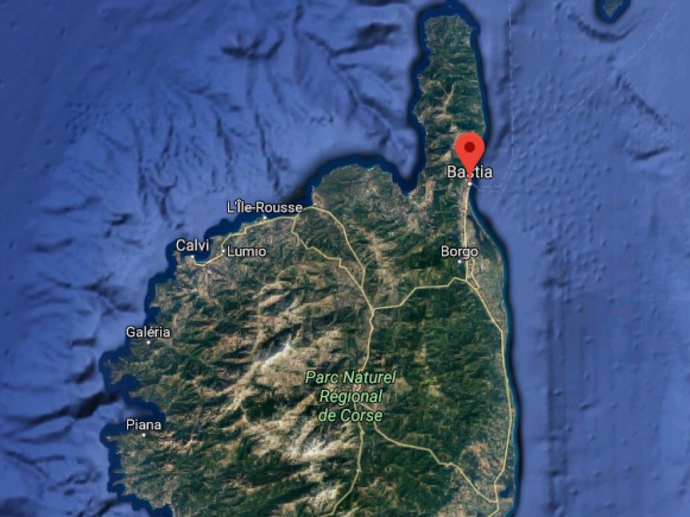 Según las autoridades, los hechos tuvieron lugar en torno a las 16.30 hora local en un barrio al sur de Bastia.