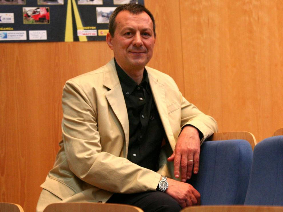 Manuel Solanas, en una fotografía de 2007.