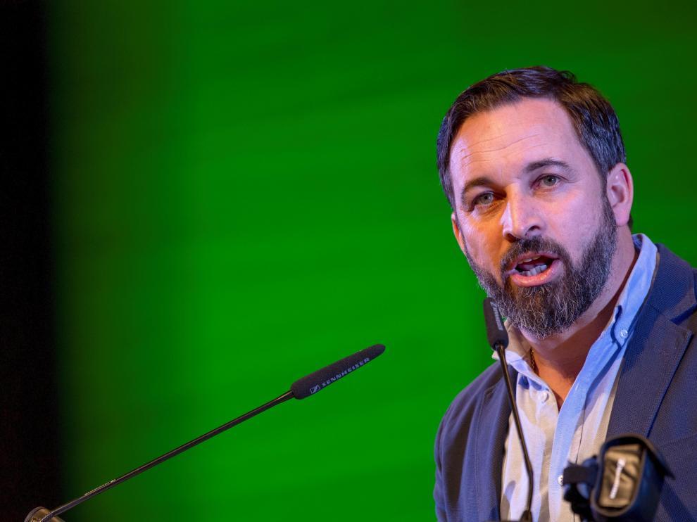 El presidente nacional de Vox, Santiago Abascal.