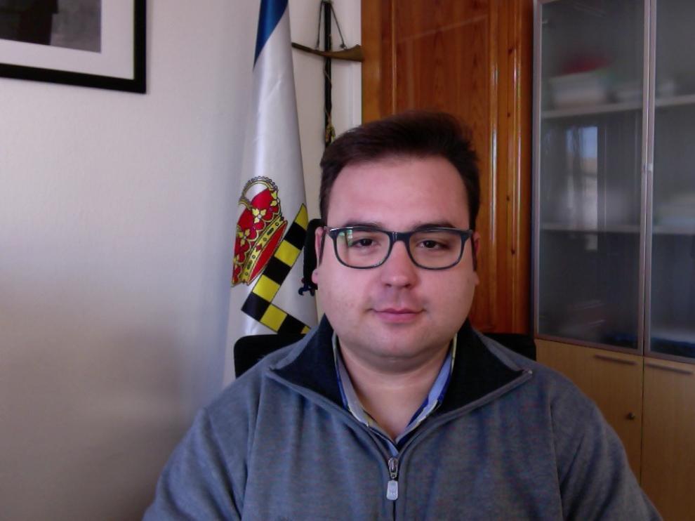 José Ignacio Andrés busca promocionar los encantos turísticos de Pinseque.