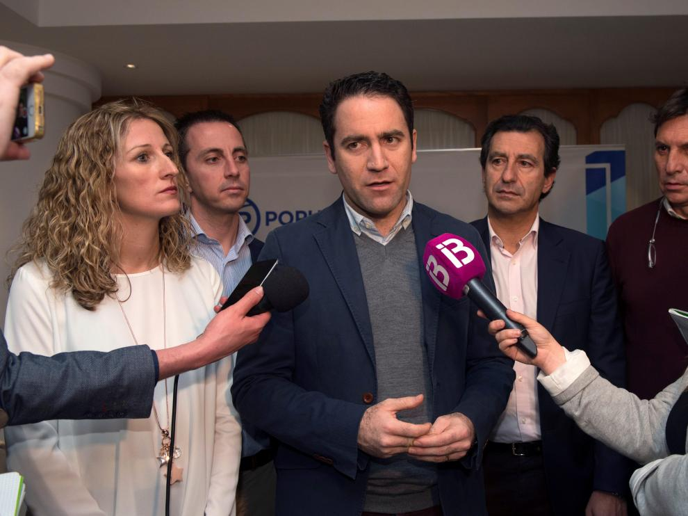 El secretario general del PP nacional, Teodoro García Egea.