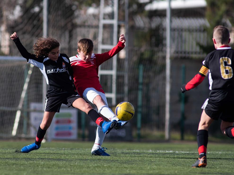 Fútbol. Alevín Preferente- ST. Venecia vs. Amistad.