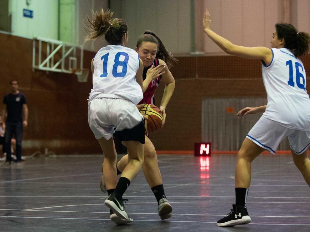 Baloncesto. Primera Femenina- Unizar vs. Marianistas.