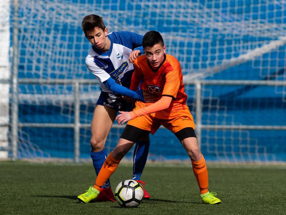 Fútbol. DH Infantil- Ebro vs. Juventud.