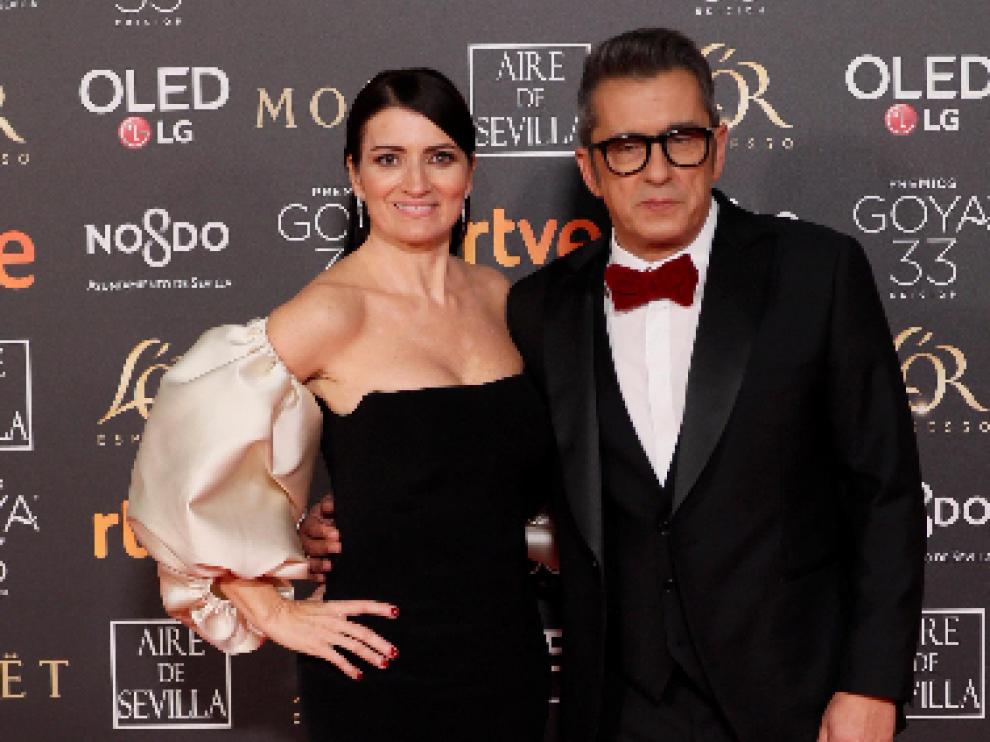 Los presentadores de la gala, Silvia Abril y Andreu Buenafuente.