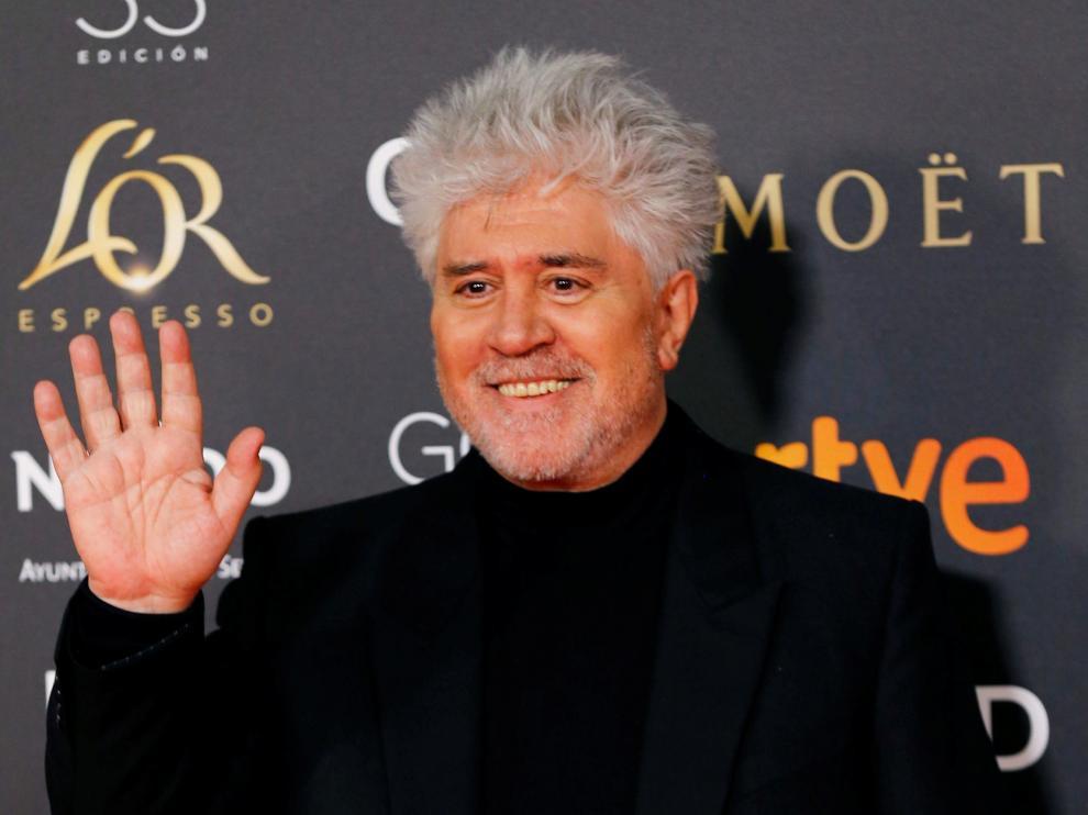 El director de cine, Pedro Almodóvar.