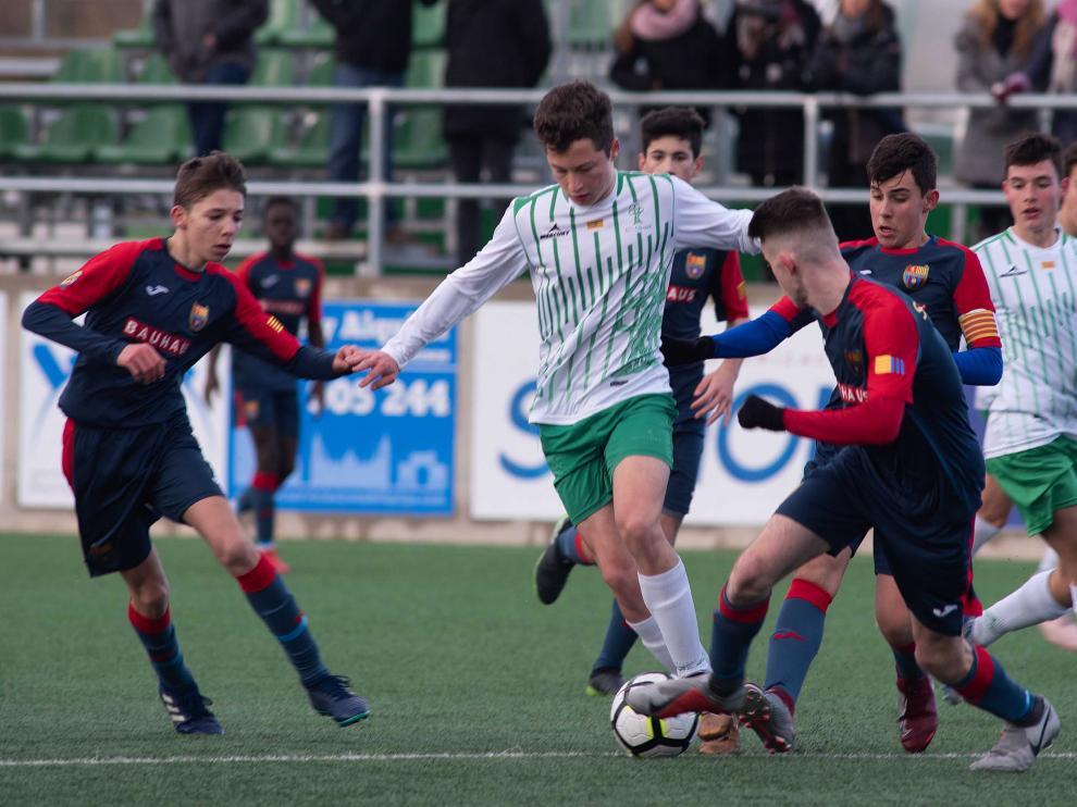 Fútbol. División de Honor Cadete El Olivar vs Oliver.