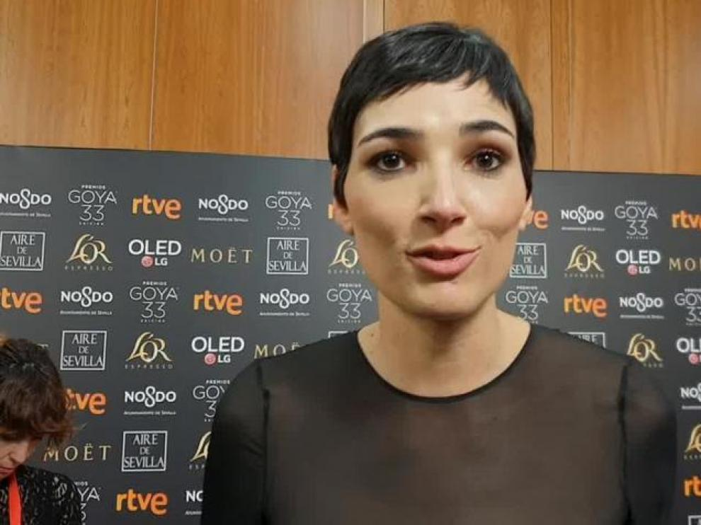 La aragonesa Isabel Peña triunfa en los Goya