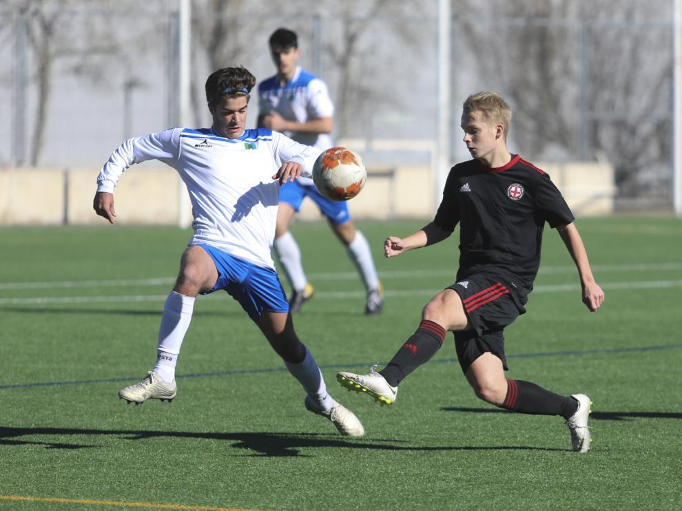 Fútbol. Liga Nacional Juvenil- IPC La Escuela vs. Marianistas.