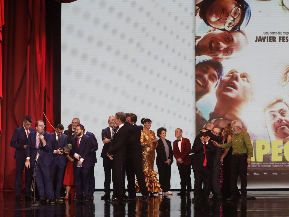 'Campeones', Goya a mejor película.