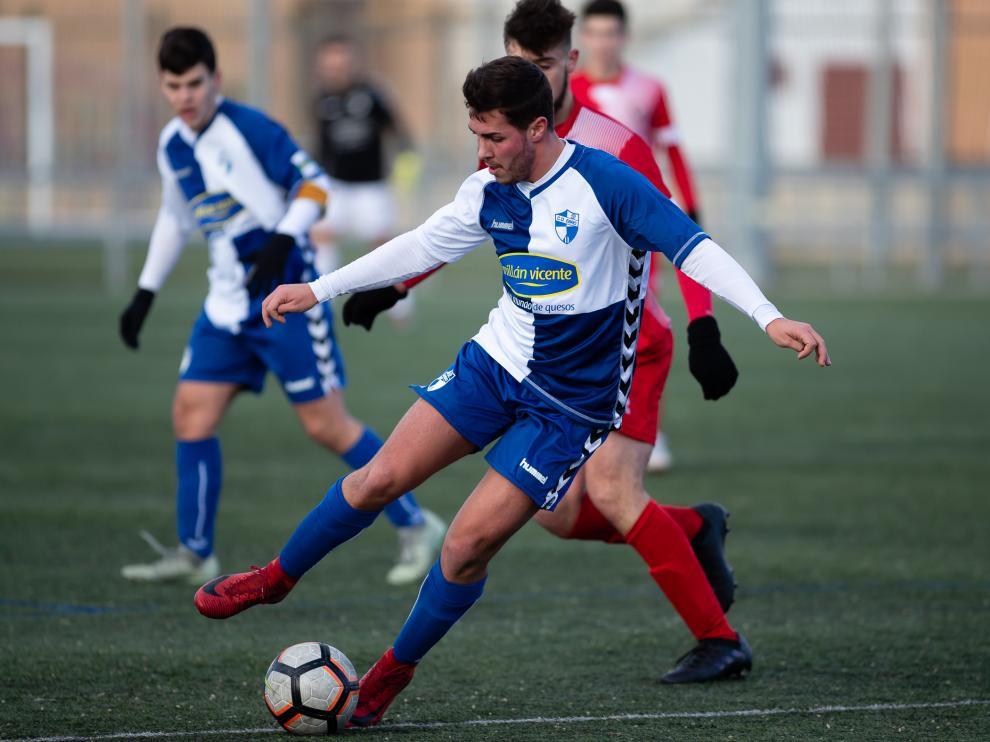 Fútbol. LN Juvenil- Actur vs. Ebro.