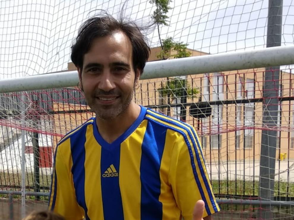 Imagen de Eduardo N.C., fallecido este domingo en el Parque Deportivo Ebro.