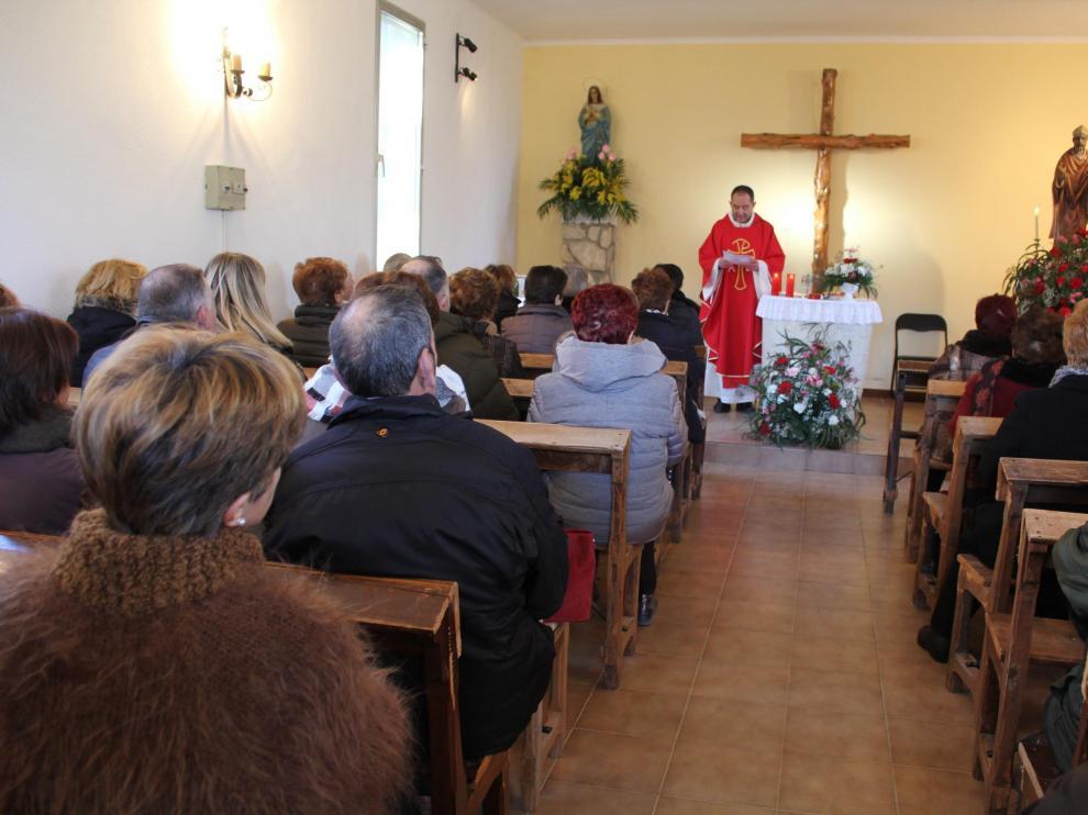 Celebración de San Blas este domingo en Robres.