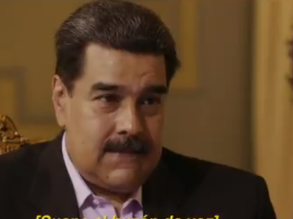 Nicolás Maduro en una entrevista con Jordi Évole para La Sexta.