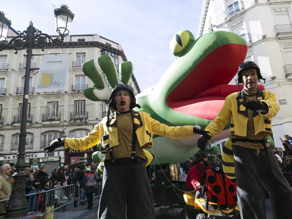 El desfile del Carnaval infantil de 2018.