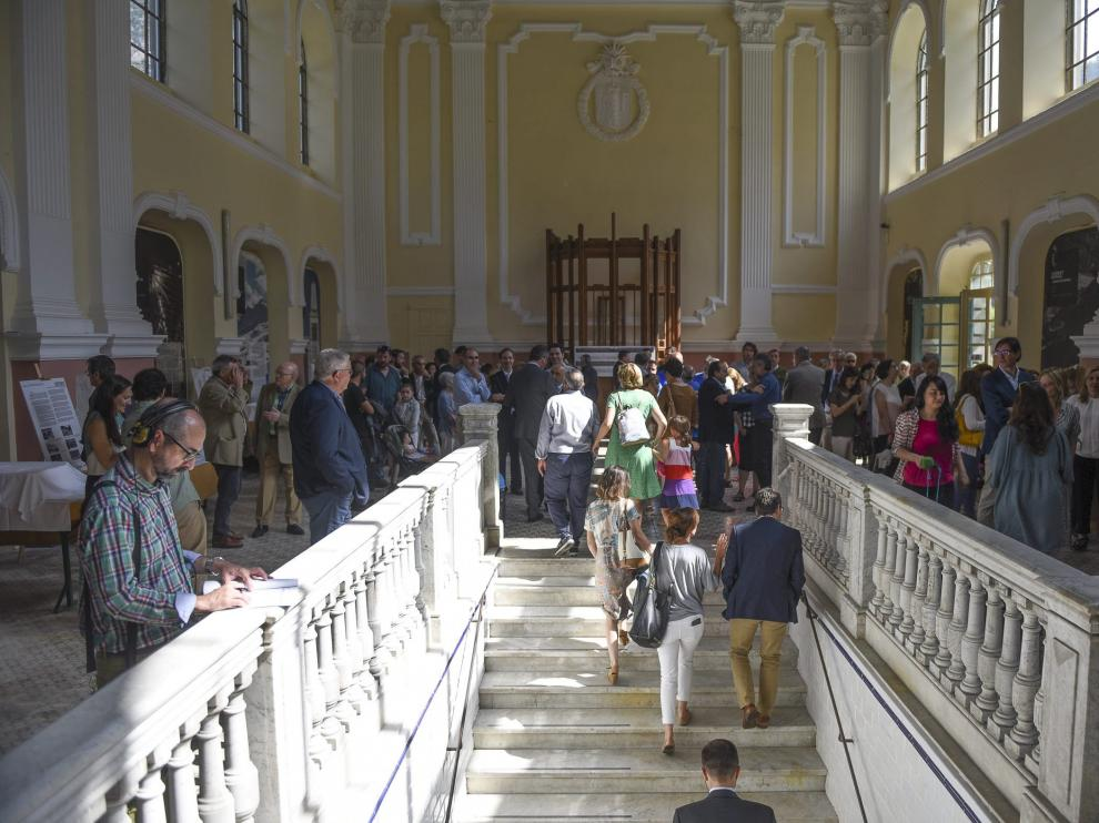La estación internacional de Canfranc el día de su reapertura el pasado junio.