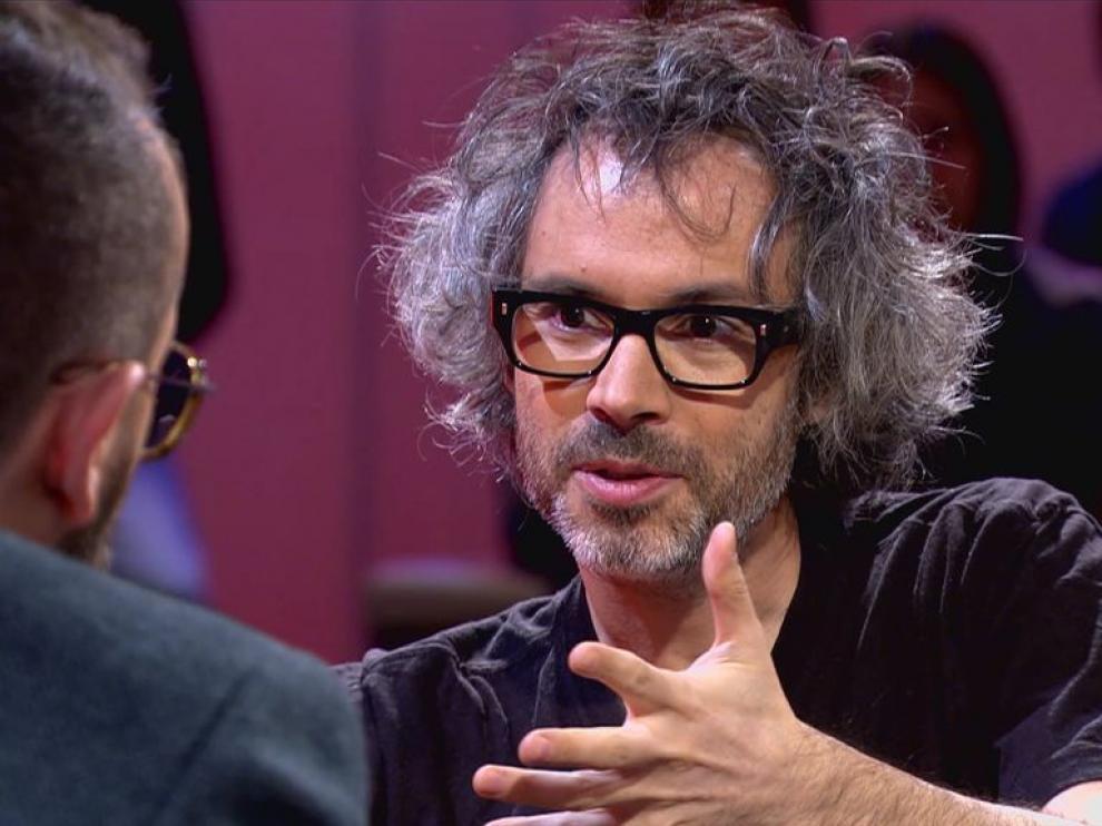 James Rhodes en el programa 'Chester' de Cuatro.