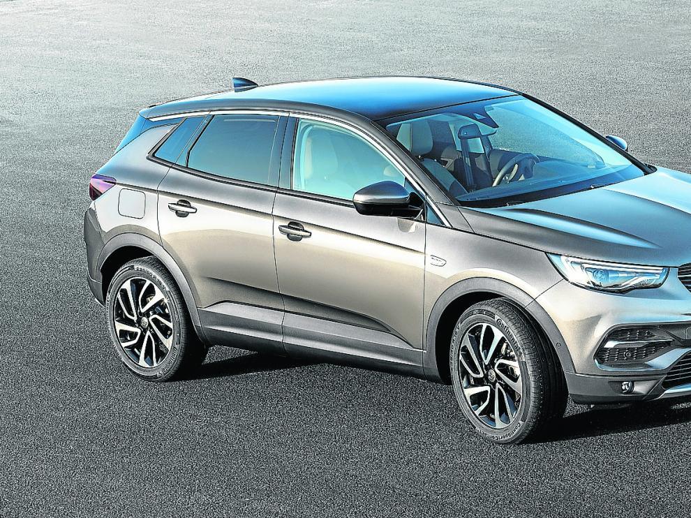El Opel Grandland X, híbrido enchufable.