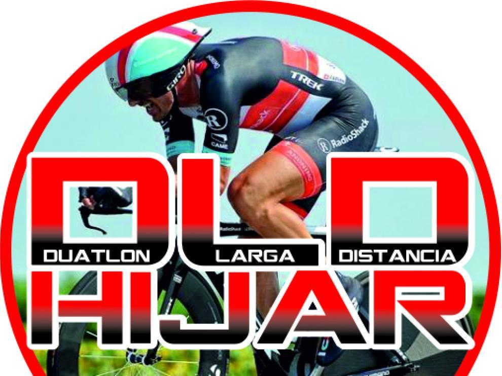 Logo del I Duatlón Larga Distancia de Híjar