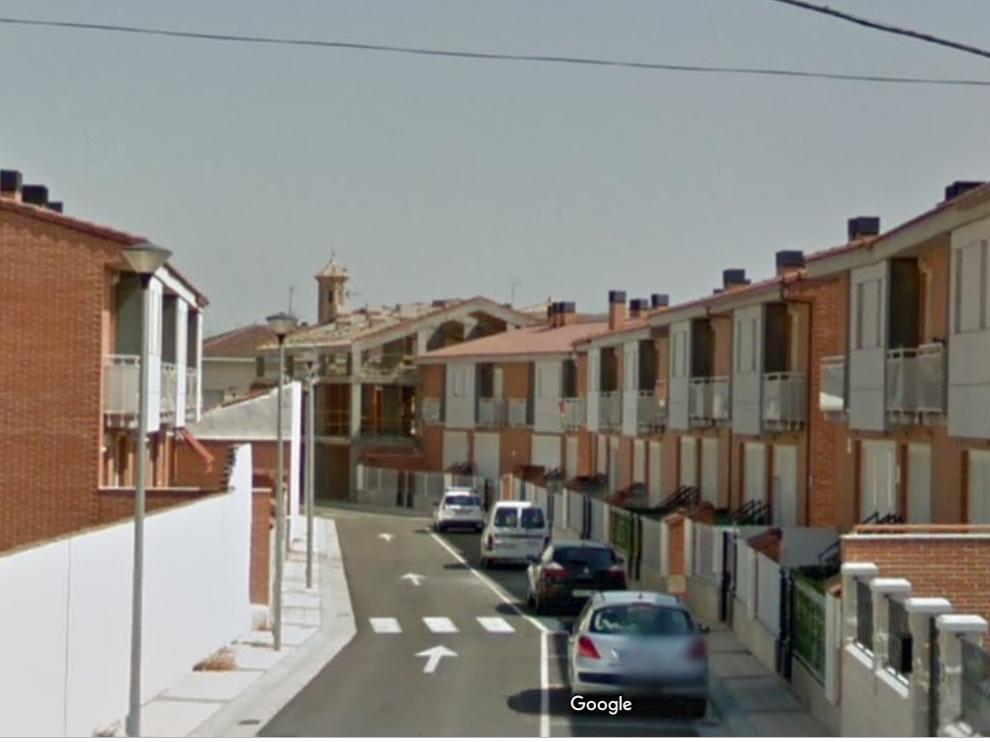 Viviendas unifamiliares de la calle María Agustín de Pinseque