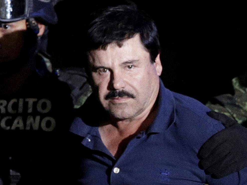 """Joaquín Guzman, alias """"El Chapo""""."""