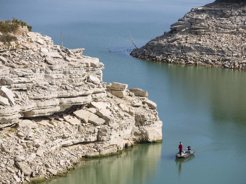 Pesca en Mequinenza.