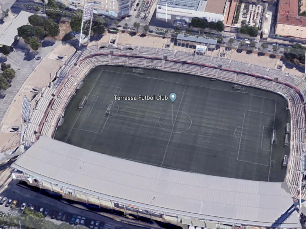 Estadio del Terrassa FC