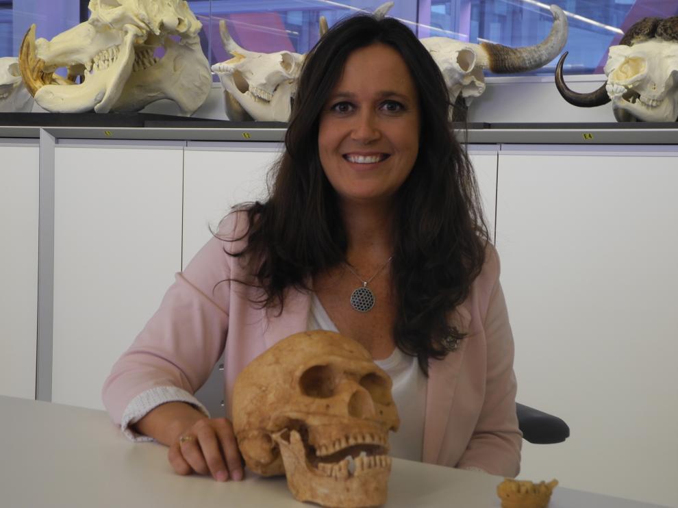 María Martinón-Torres intervino en los Encuentros del Museo de Ciencias Naturales de la Universidad de Zaragoza