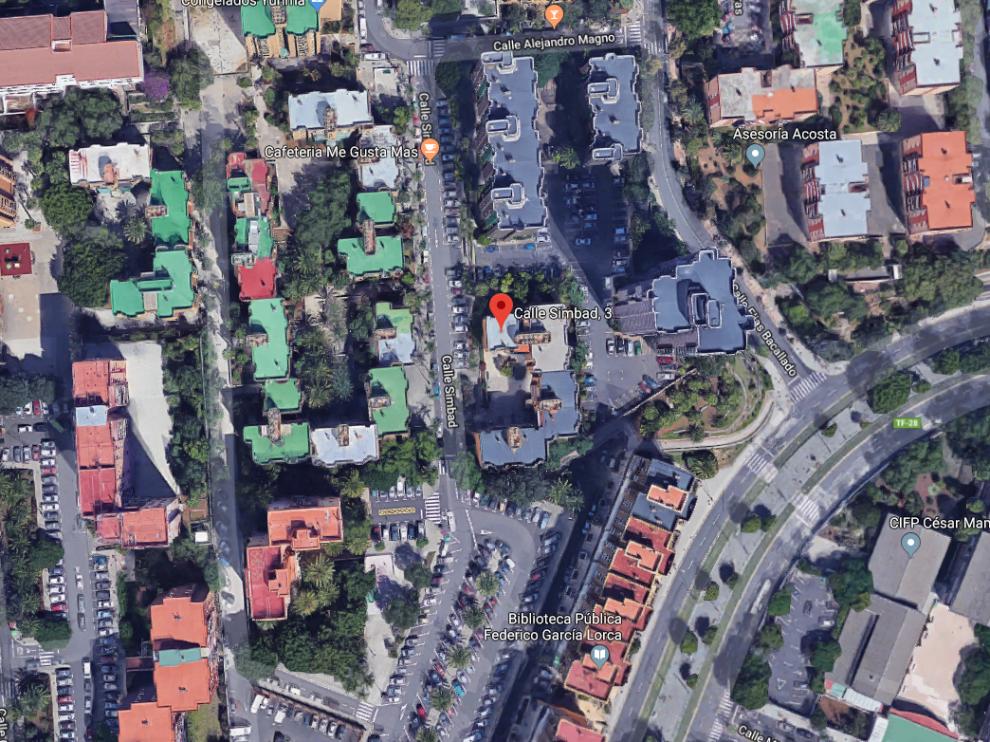 El asesinato tuvo lugar en el número 3 de la calle de Simbad.