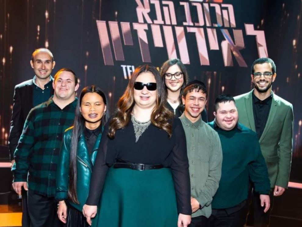 La banda musical 'Shalvá', formada por jóvenes israelíes con distintas discapacidades.