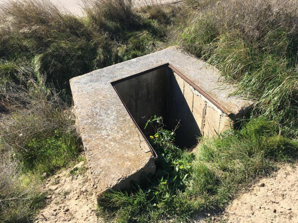 Pozo en Parque Goya