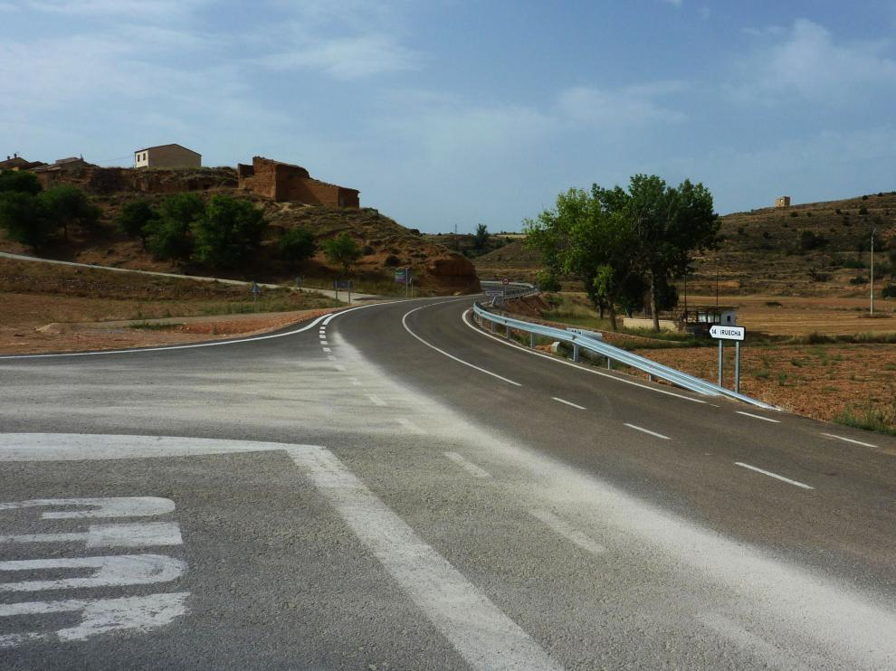 Concluye el arreglo de la carretera provincial entre Torrehermosa y Alconchel de Ariza