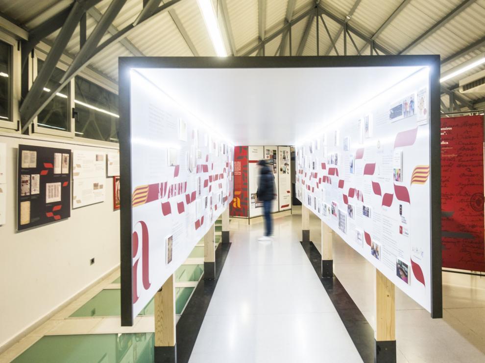 Imagen de archivo de la exposición celebrada en Huesca.