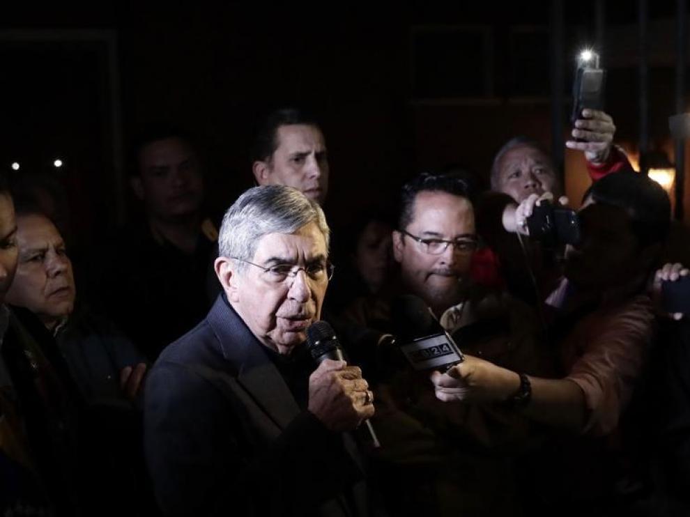 El expresidente de Costa Rica acumula tres denuncias de abuso sexual.