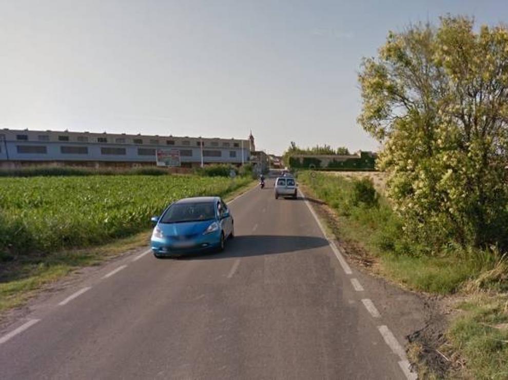 Imagen de archivo de la carretera de Movera a Pastriz.