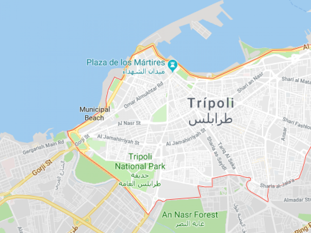 Trípoli, Libia.