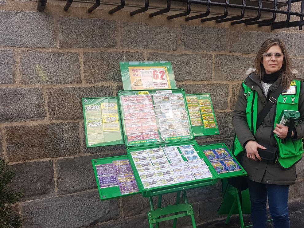 Patricia da Conceicao Villa, venderora de los cupones
