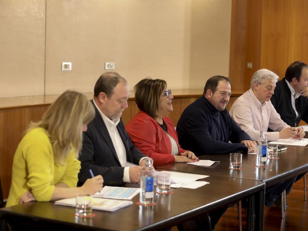 La DPH ha acogido este jueves la creación de la nueva red de municipios aragoneses con espacios protegidos