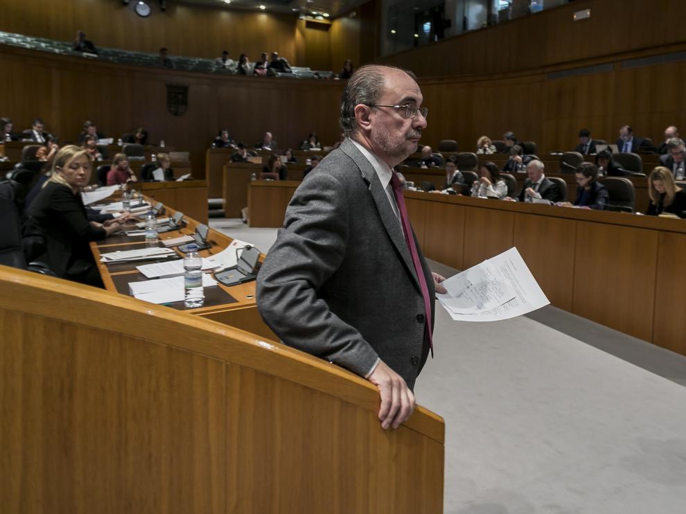 Javier Lambán, en imagen de archivo.