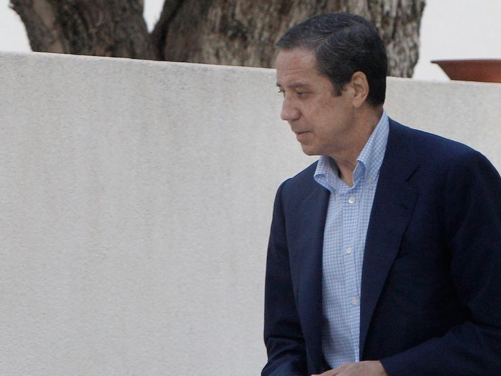 El expresident de la Generalitat y exministro de Trabajo, Eduardo Zaplana, en una imagen de archivo.