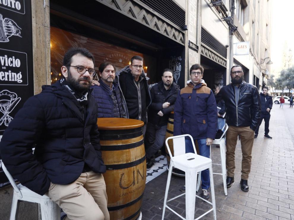 Seis asociaciones de hosteleros de Zaragoza hacen frente común contra la ordenanza del ruido de ZEC