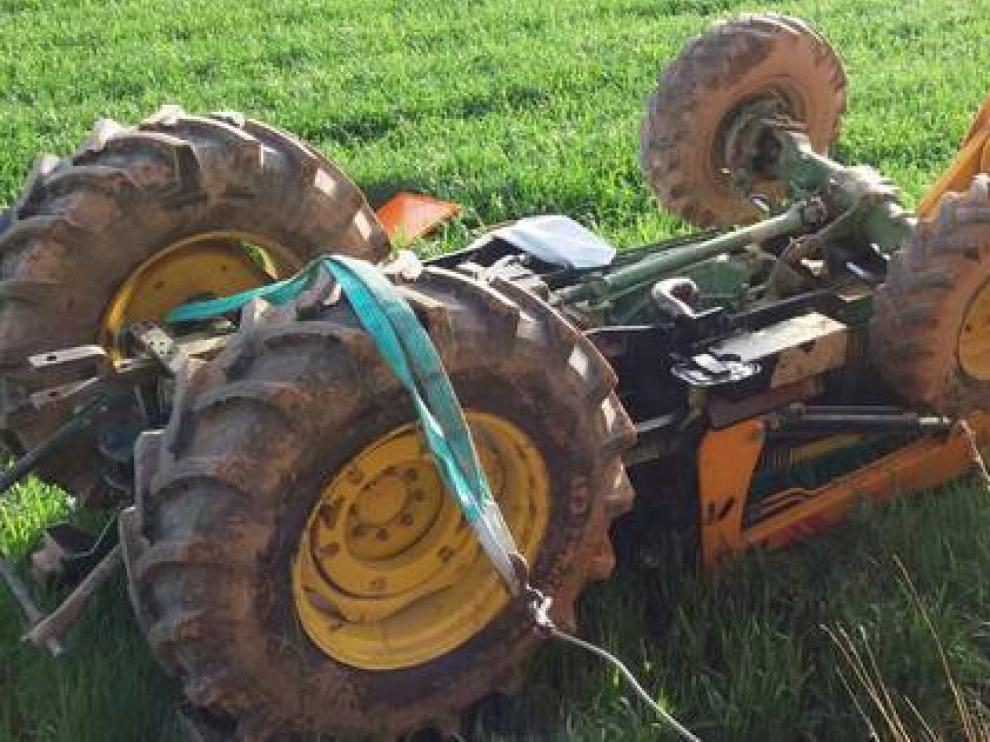 Imagen de archivo de un accidente agrícola