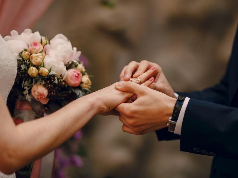 El enlace matrimonial fue disuelto solo tres minutos después de producirse.