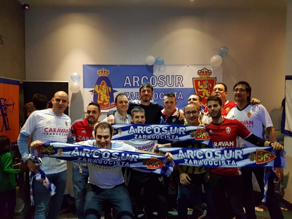 Inauguración de peñas del Real Zaragoza