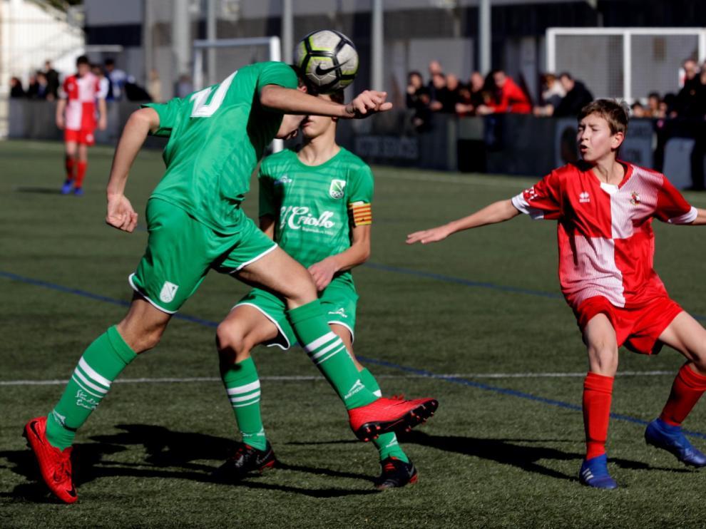 Fútbol. DH Infantil- Actur vs. Stadium Casablanca.